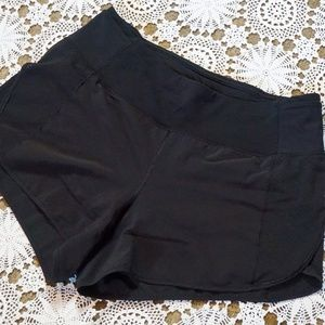 Lululemon Black Mesh Shorts